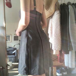 college style plaid dress